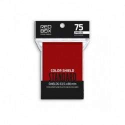 Folios Cartas X75 Color Shield Rojo (63.5 X 88)