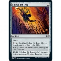 Spiked Pit Trap