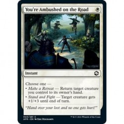 You´re Ambushed On The Road