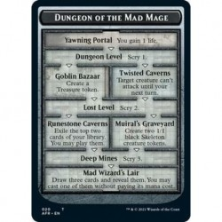 Dungeon Of The Mad Mage Dungeon // Goblin Token