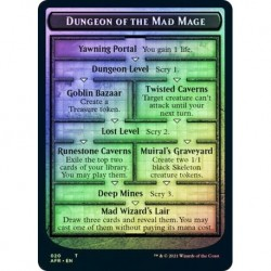 Dungeon Of The Mad Mage Dungeon // Goblin Token (foil)