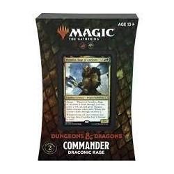 Mazo Magic Commander Forgotten Realms Draconic Rage