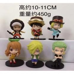 Gashapones One Piece 6 Modelos Precio X Unidad