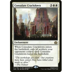 Consulate Crackdown