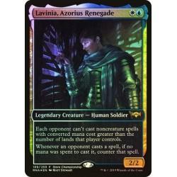 Lavinia, Azorius Renegade (store Championship) (full Art) Foil