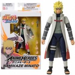 Figuras Anime Heroes Namikaze Minato Articulados 17 Cm