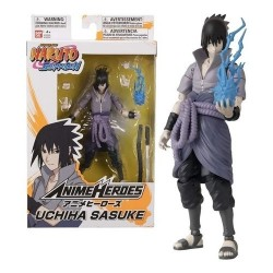 Figuras Anime Heroes Sasuke Articulados 17 Cm