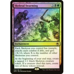 Skeletal Swarming Foil