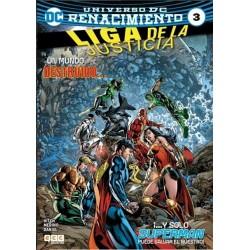 La Liga De La Justicia 03  Renacimiento