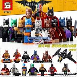 Lego Sy634 Batman (entre Los 12 Mod Se Arma Una Nave)