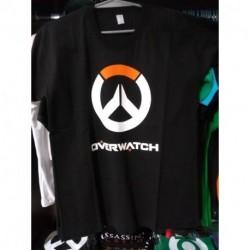 Remera Overwatch Logo Naranja Y Blanco