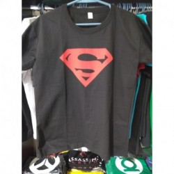Remera Superman Negra