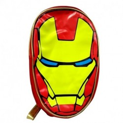 Mochila Bioworld Cuerina Forma Iron Man