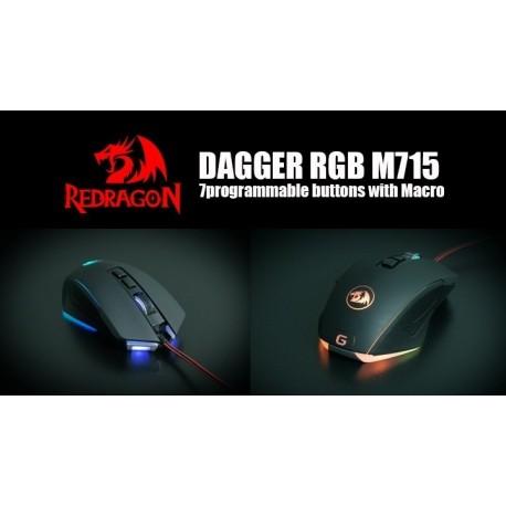 Mouse Gamer M715 Dagger