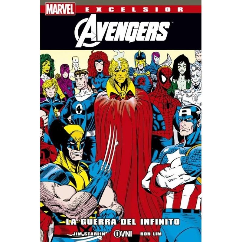[Comics] Siguen las adquisiciones 2018 - Página 2 Marvel-excelsior-la-guerra-del-infinito