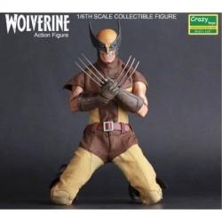 Wolverine 1/6. Simil Sideshow/hot Toys. Marca Crazytoys