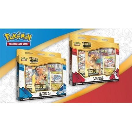 Pokemon Dragon Majesty Pin Collection Latias/latios