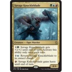 Savage Knuckleblade