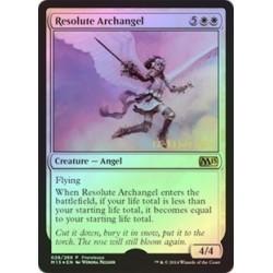 Resolute Archangel (magic 2015 Prerelease) (foil)