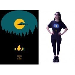 Remera Adventure Time - Just A Dog And His Human