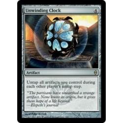 Unwinding Clock