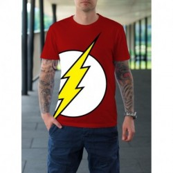 Remera Dc Logo Flash
