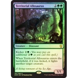 Territorial Allosaurus (foil)