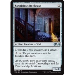 Suspicious Bookcase