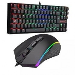 Kit  Teclado Y Mouse Gamer K552rgb-ba