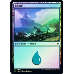 Island (255) (foil)