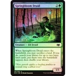 Springbloom Druid (foil)