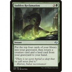 Sudden Reclamation