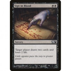 Sign In Blood