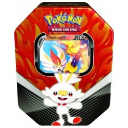 Pokemon Galar Partners Tin Cinderace V