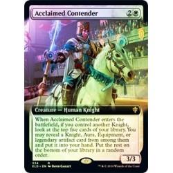 Acclaimed Contender (extended Art) (foil)