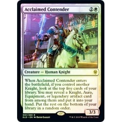 Acclaimed Contender (foil)