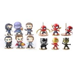 Avengers Chibis 12 Mod(x Unidad)