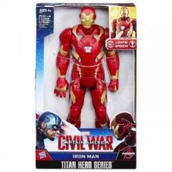 Avengers Con Sonido Iron Man Civil War Titan Hero Series