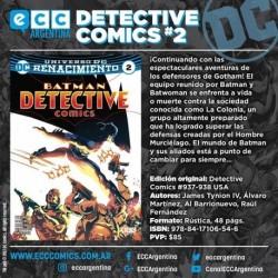Batman Detectives 02  Renacimiento