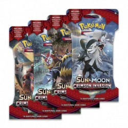 Booster Pokemon Sun & Moon Crimson Invasion