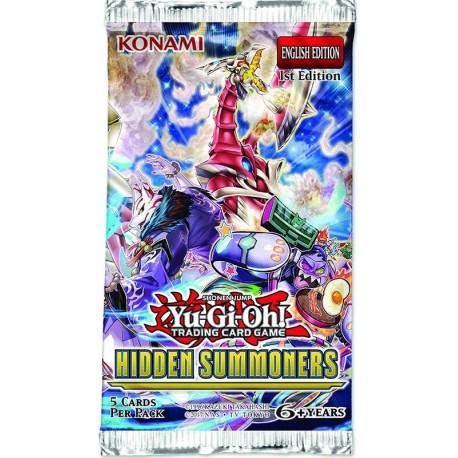 Booster Yugioh Hidden Summoners