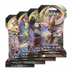 Boosters Pokemon Rebel Clash
