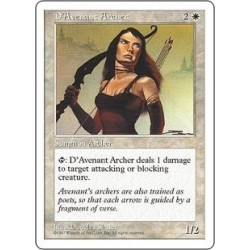 D´avenant Archer