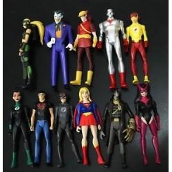 Dc Superheroes Tipo Comic Medianos 15 Mod.
