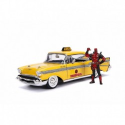 Deadpool & 1957 Chevrolet Bel Air Taxi