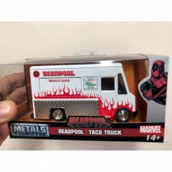 Deadpool Food Truck Blanco Chico