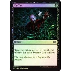 Defile (foil)