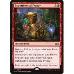 Experimental Frenzy (foil)