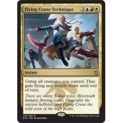 Flying Crane Technique