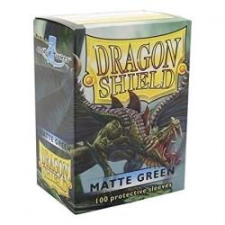 Folios Cartas X100 Dragon Shield Green Matte